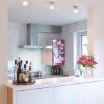 Bruch mit der Regelmäßigkeit - Küche/Essbereich/Theke